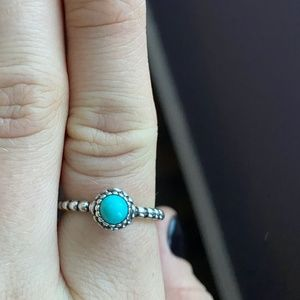 Pandora Turquoise Ring